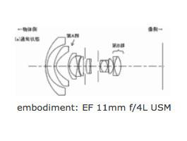 Canon-EF-11mm-f4L-USM-Lens-Patent