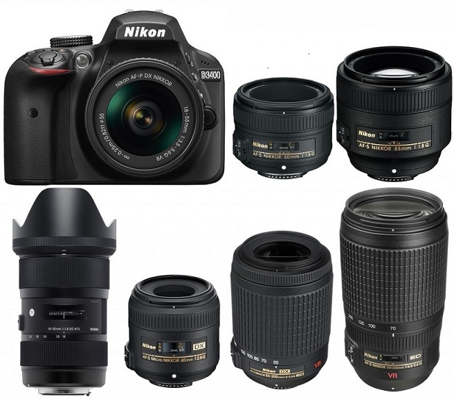 Best Lenses for Nikon D3400 - Camera Ears