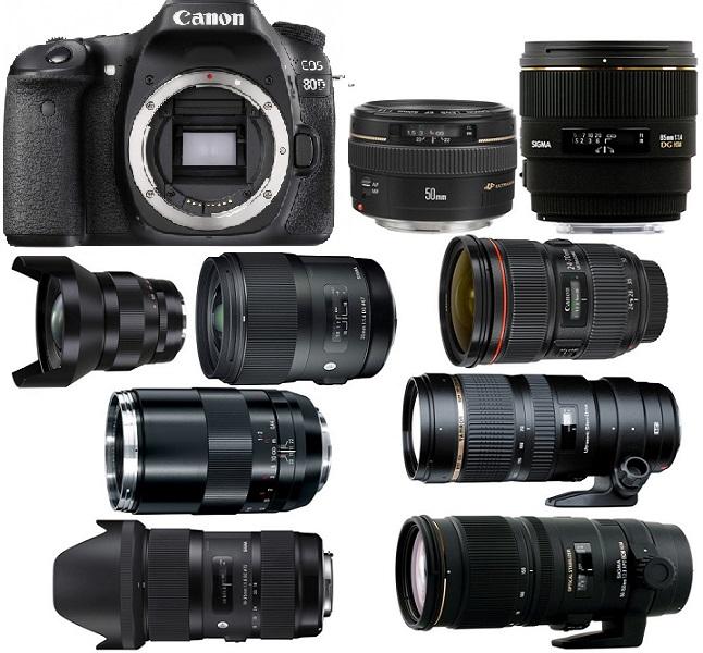 Best Lenses for Canon EOS 80D - Camera Ears