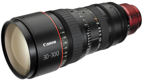 The Current Canon CN-E 30-300mm T2.95-3.7 L S EF Mount Cinema Zoom Lens