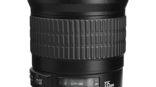 The Current Canon EF 135mm f/2L USM Lens