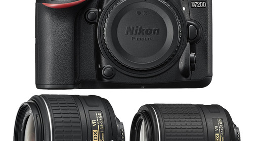 nikon-d7200-with-18-55mm-55-200mm-lenses