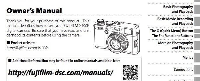 Fujifilm-X100F-camera-owner-manual