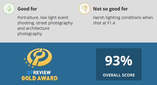 Sigma-85mm-f1.4-DG-HSM-Art-Lens-Gets-Gold-Award-at-DPReview
