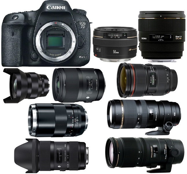 Best Lenses for Canon EOS 7D Mark II - Camera Ears