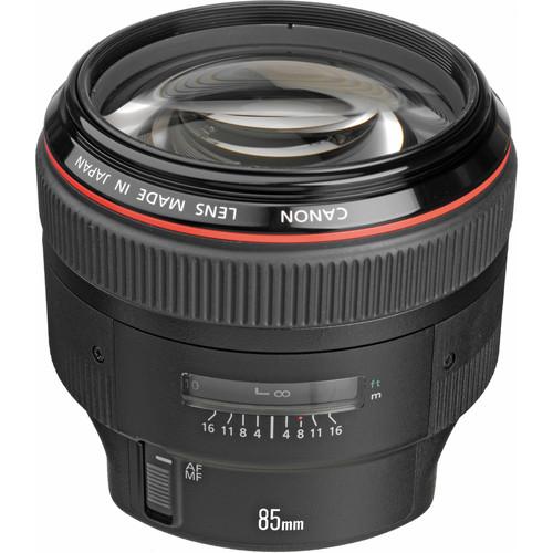 The Current Canon EF 85mm f/1.2L II USM Lens