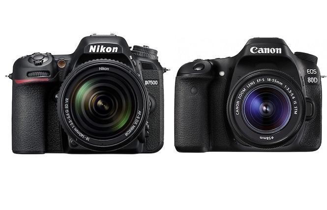 Nikon-D7500-vs-Canon-EOS-80D