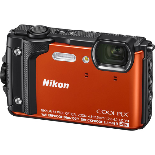 Nikon-COOLPIX-W300-orange