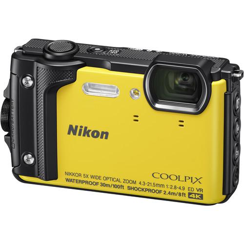 Nikon-COOLPIX-W300-yellow