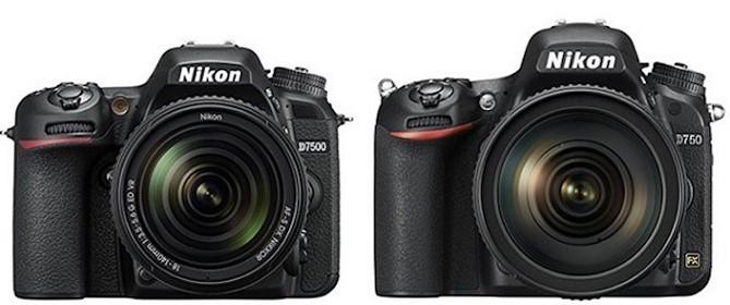 Nikon-D7500-vs-Nikon-D750