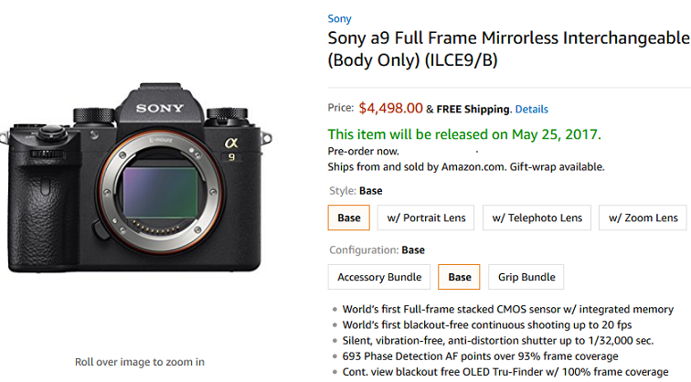 Sony-A9-at-Amazon