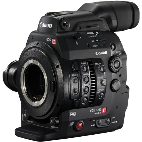 Canon-Cinema-EOS-C300-Mark-II-Camcorder-Body