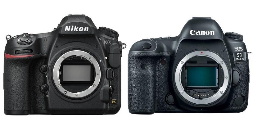 Nikon-D850-vs-Canon-EOS-5D-Mark-IV