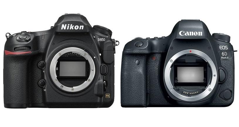 Nikon-D850-vs-Canon-EOS-6D-Mark-II