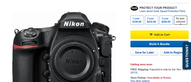 Nikon-D850-in-Stock-at-BestBuy