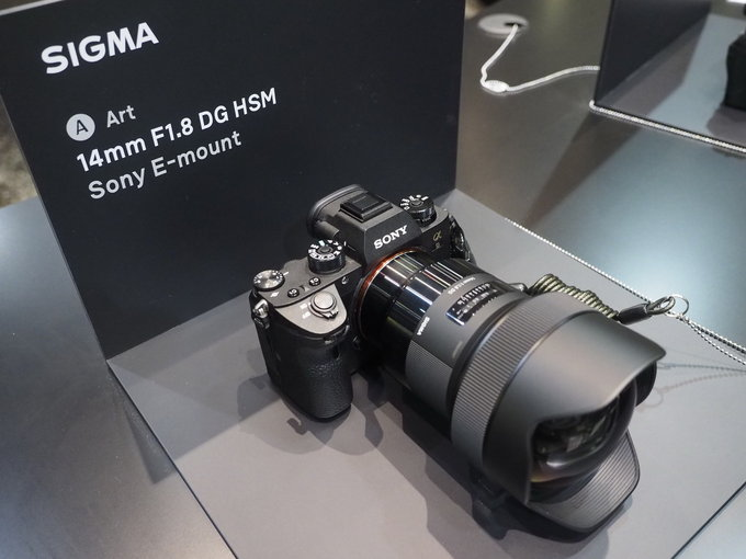 New Sigma Art E Mount Lenses At 2018 Cp Show Camera Ears
