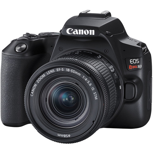 DPReview Published Canon EOS Rebel SL3 Review (79% Overall