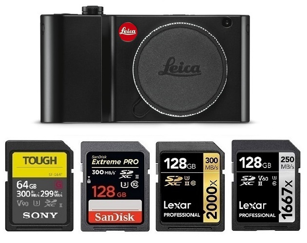 2 Pack SDXC Leica T Digital Camera Memory Card 2X 64GB Secure Digital Class 10 Extreme Capacity Memory Card